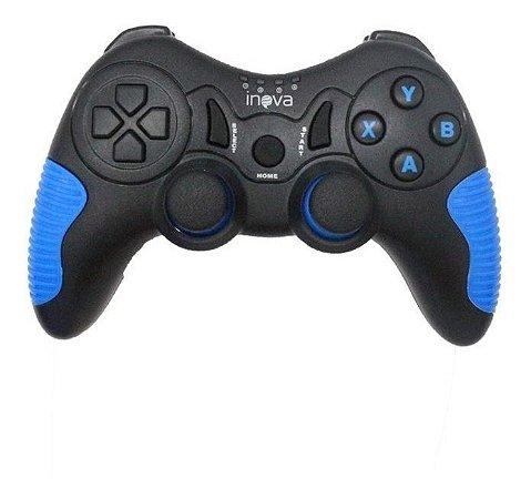 Controle de Jogos sem Fio 8 in 1 Inova, Play3, PC. Tvbox, Steam Amdroid Tablets