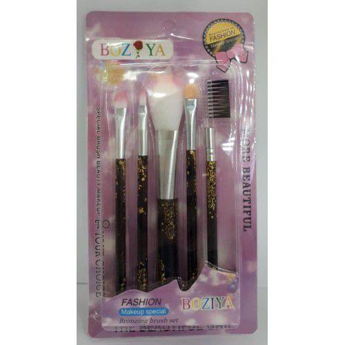Kit de pincel para maquiagem Bozya 5 peças