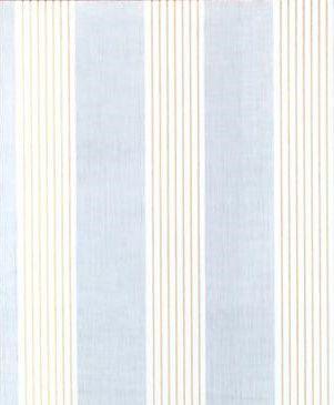 Papel de parede Social Listrado Azul,branco com listras Douradas rolo de 5 metros por 45 cm adesivado 5799-1