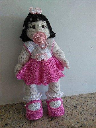 Boneca Articulada Amigurumi | Pelúcia Candy Artes Nunca Usado ... | 450x337