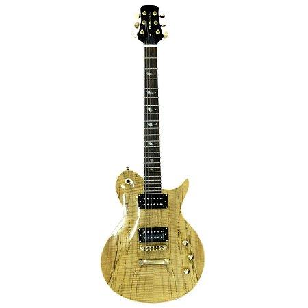 Guitarra LP PRS Oliverschen top lpv-8  NATURAL