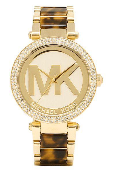 ab7bcf307bd7d Relogio Michael Kors MK6109 Parker Champgne - Michael Kors - Watches ...