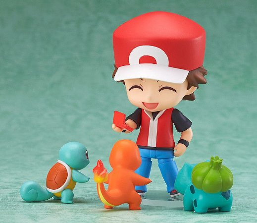 Action Figure Treinador Red - Pokémon