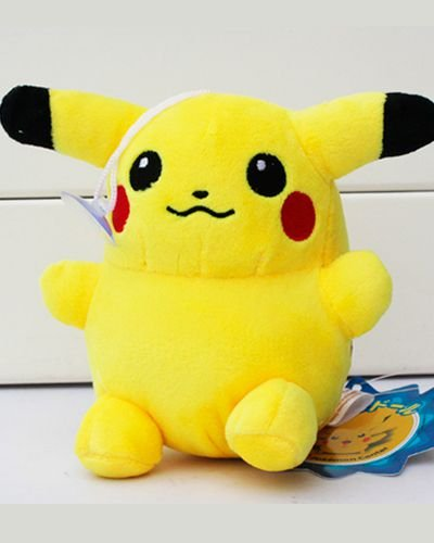 Boneco de Pelúcia Pikachu - Pokémon