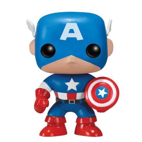 Funko POP! Capitão América - CAPTAIN AMERICA