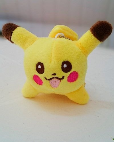 Pikachu - Chaveiro de Pelúcia POKÉMON