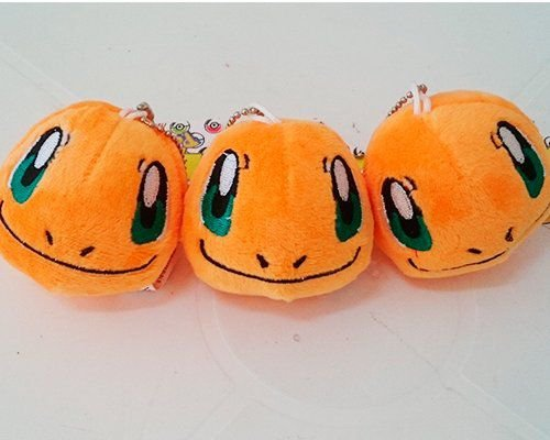 Chaveiro de Pelúcia Charmander - Pokémon