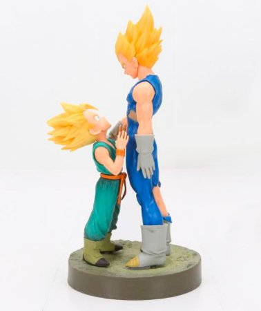 Action Figure Vegeta e Trunks Super Sayajin - Dragon Ball Z