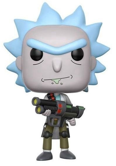 Funko POP! Weaponized Rick - Rick and Morty