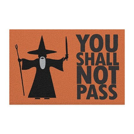 Capacho em Vinil You Shall Not Pass - The Lord of the Rings