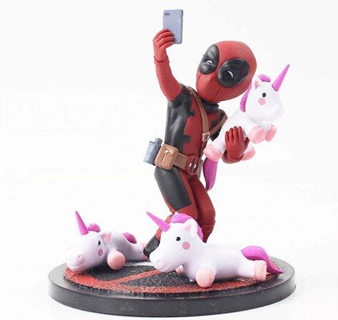 Action Figure Deadpool Unicorn Selfie - Marvel Comics
