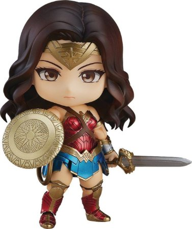 Action Figure Wonder Woman Hero's Edition 818 Nendoroid - DC Comics