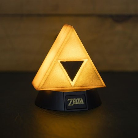 Luminária Triforce Light 001 Paladone - The Legend of Zelda