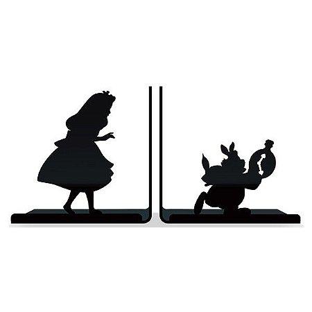 Aparador de Livros Wonderland - Alice no País das Maravilhas
