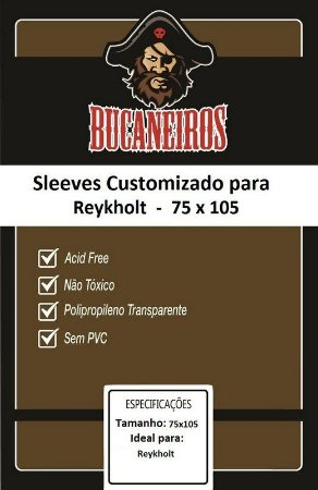 Sleeve Customizado Reykholt (75 x 105 mm) Bucaneiros