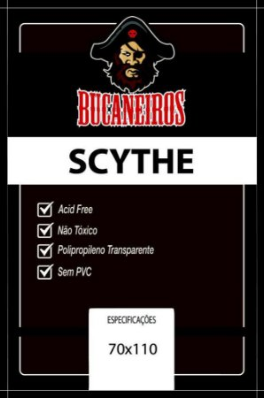 Sleeve Customizado Scythe (70 x 110 mm) Bucaneiros
