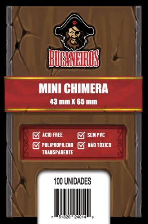 Sleeve Mini Chimera (43 x 65 mm) Bucaneiros