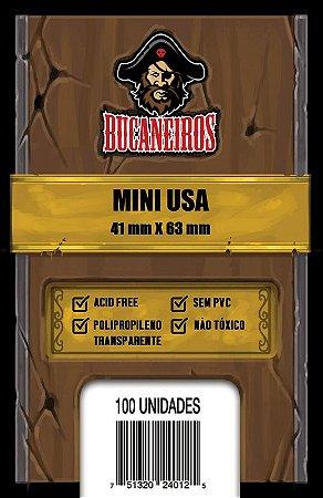 Sleeve Mini USA (41 x 63 mm) Bucaneiros