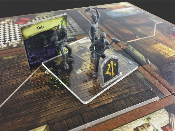 Kit Bases de Acrílico Mansions of Madness - Bucaneiros