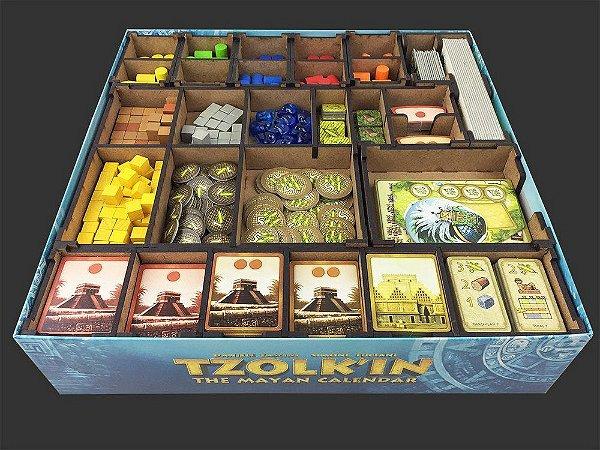 Organizador (Insert) para Tzolk'in - Bucaneiros