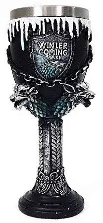 Taça Casa Stark Winter is Coming - Game of Thrones