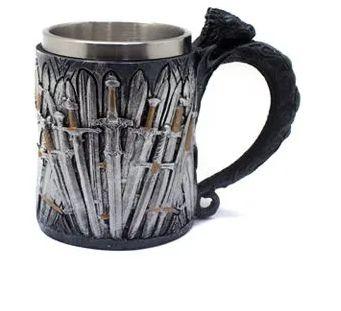 Caneca Espadas Trono de Ferro - Game of Thrones