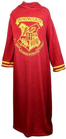 Cobertor com Mangas Hogwarts - Harry Potter