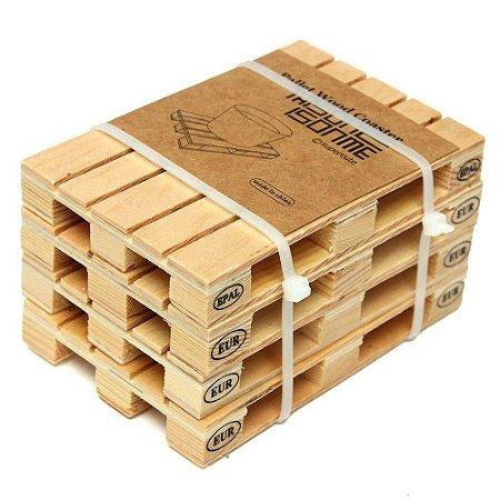 Porta-Copos Pallet Wood Coaster