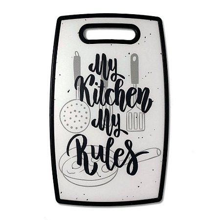 Tábua de Cozinha My Kitchen My Rules