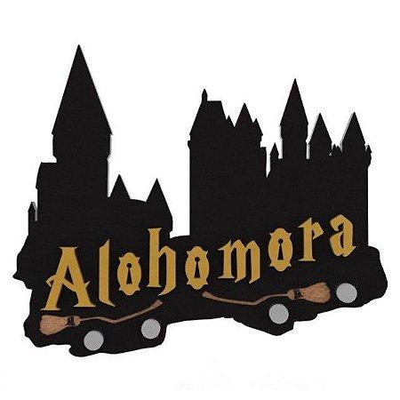 Porta Chaves Magnético Alohomora - Harry Potter