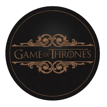 Porta-Copos Conjunto 6 Peças Game of Thrones