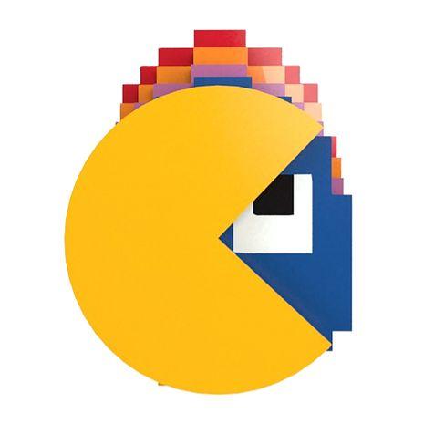 Porta-Copos Conjunto 4 Peças Pac-Man