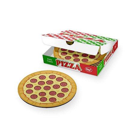 Porta-Copos Conjunto 4 Peças Pizza Peperoni