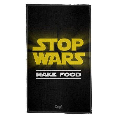 Pano de Prato Stop Wars Make Food - Star Wars