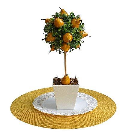 Festa Fazendinha Topiaria Com Frutas - Pera