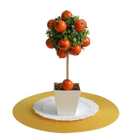 Festa Fazendinha - Topiaria Com Frutas - Laranja