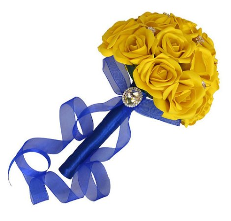 Buquê de Rosa Amarelas