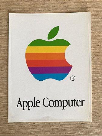 Adesivo Apple - Década de 1980 - Apple Computer