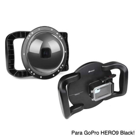 Dome Shoot alça dupla modelo XTGP5559 de 6 Polegadas para Câmeras GoPro HERO9 Black e GoPro HERO10 Black