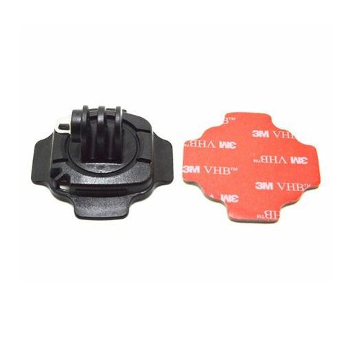 Suporte Tipo Base Curva 360 Graus Para Gopro, SJCam, Sony e Similares
