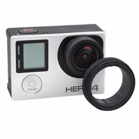 Lente Protetora Similar para câmeras Gopro HERO3, HERO3+, HERO4 Silver e HERO4 Black.