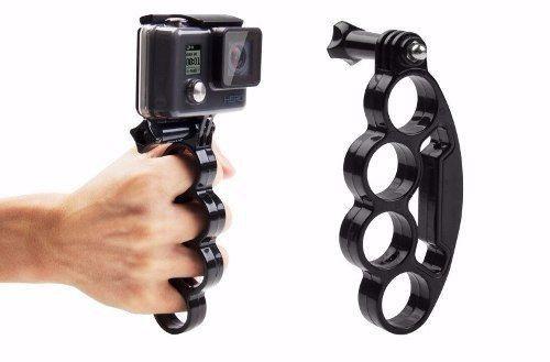Suporte Ergonômico Tipo Soqueira Para Mãos e Dedos Compatível Câmeras Gopro, SJCam, Sony e Similares