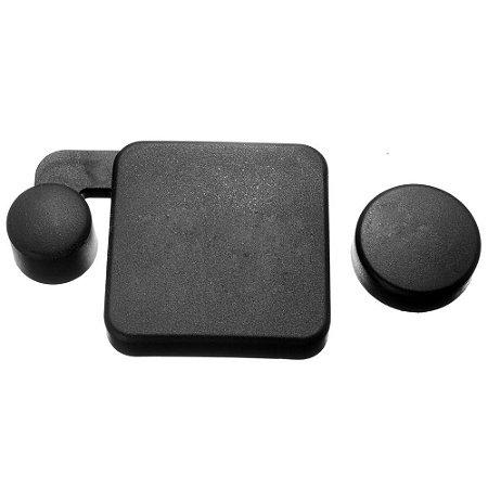 Tampas de Proteção para Caixa Estanque e Lente das Câmeras SJCam e Similares