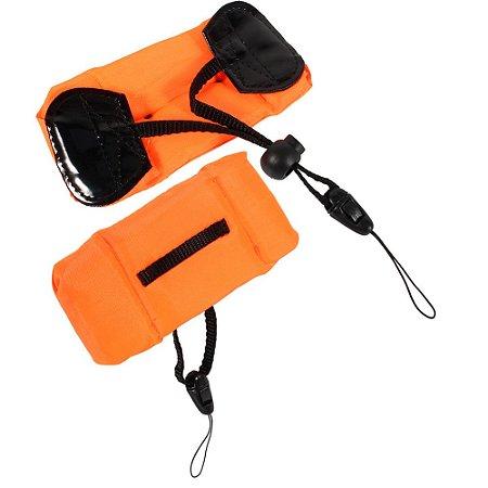 Flutuante de Pulso com corda para câmeras Gopro, SJCam, Sony e Câmeras Similares