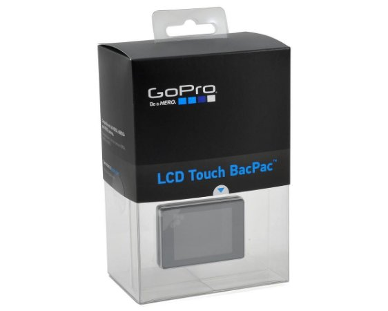 Tela LCD Touch BacPac ORIGINAL GoPro para Câmeras GoPro HERO3, HERO3+, HERo4 Silver e HERO4 Black