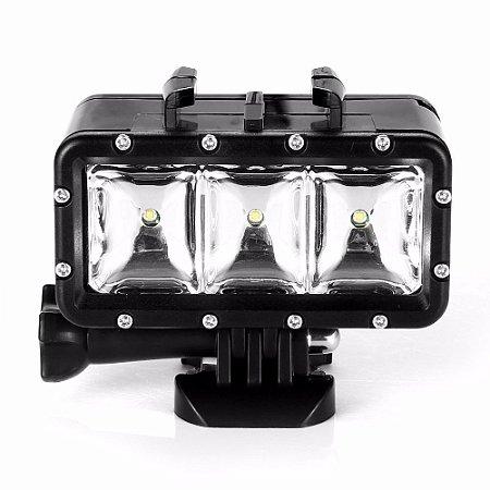 Iluminação em Led para Mergulho Compatível com GoPro, SJCam e Similares