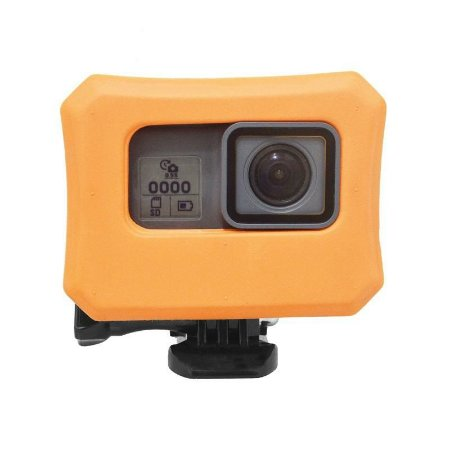 Boia Tipo Caixa ou Float Box Para Câmeras Gopro HERO5 Black, HERO6 Black, HERO7 White, Silver e Black
