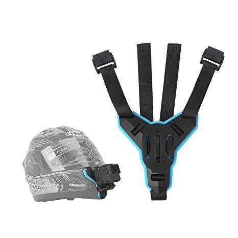 Suporte Ajustável Telesin para Capacete compatível com GoPro, SJCam e câmeras Similares - modelo 01