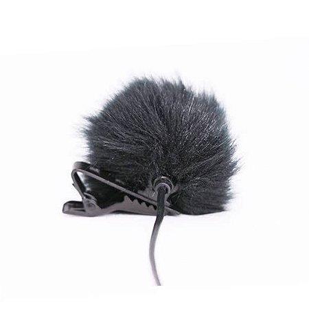 Proteção contra Vento Para Microfones de Lapela ou Microfones de Tamanho Compatível