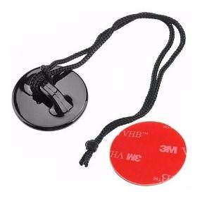 Suporte Tipo Base de Segurança com Cordão, Compatível Com Gopro, DJi Action Cam, SJCam, Sony e Similares